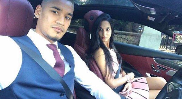 Marrion & Alphonse Areola au mariage d'Isabelle & Blaise Matuidi