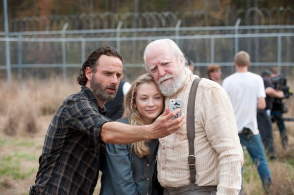#Selfies Rick/ Bess / Hershel