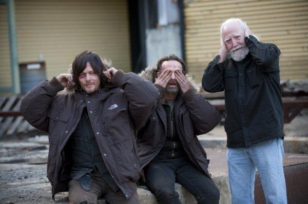 #Selfie Daryl/ Rick/ Hershel