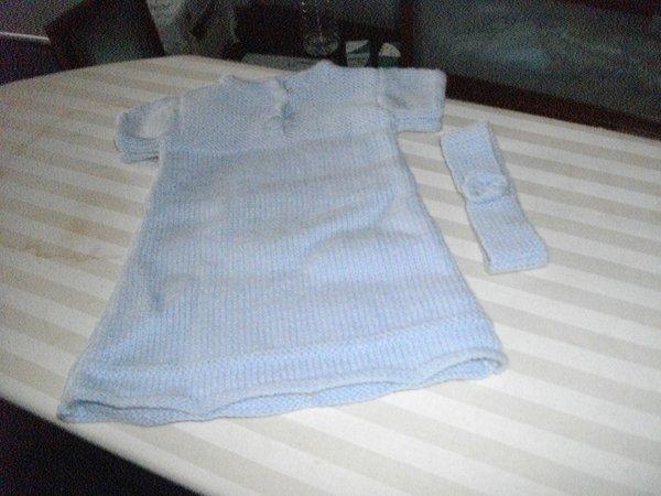 petite robe parme 3 mois (dispo)