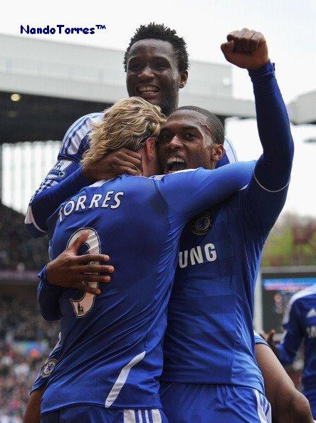 31.03.12 ; Aston Villa 2 - 4 Chelsea ... But de Torres =D.