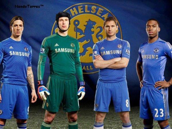 Le nouveau maillot de Chelsea pour 2012-2013.