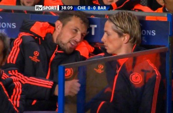 18.04.12 ; Chelsea 1 - 0 Barca.