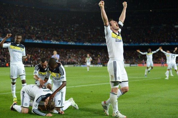 24.04.12 ; Barca 2 - 2 Chelsea