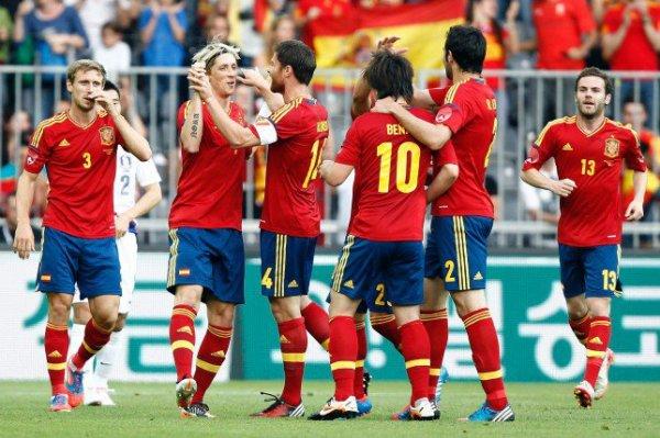 30.05.12 ; Espagne 4 - 1 Corée du sud