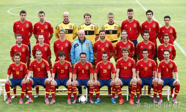Espagne ; Euro 2012 ♥