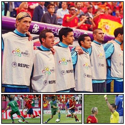 10.06.12 ; Italie 1 - 1 Espagne