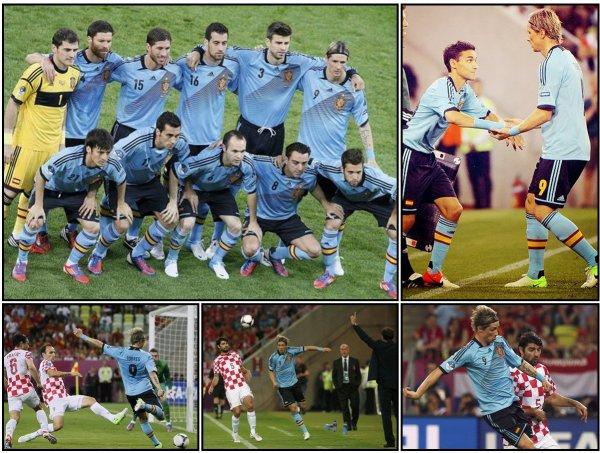 18.06.12 ; Espagne 1 - 0 Croatie