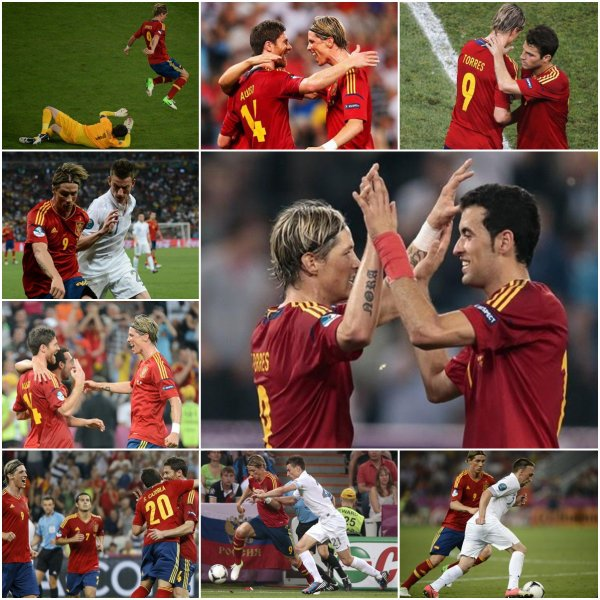 24.06.12 ; France 0 - 2 Espagne.
