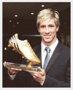 Fernando Torres sacré meilleur buteur de l'Euro 2012.