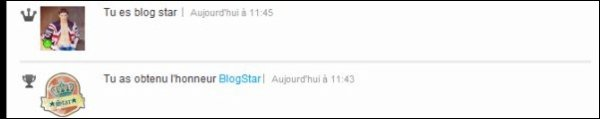 27.07.12 ; BLOG STAR !