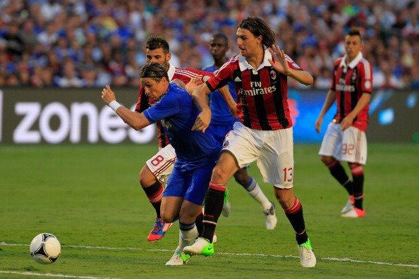 28.07.12 ; Chelsea 0 - 1 Milan AC