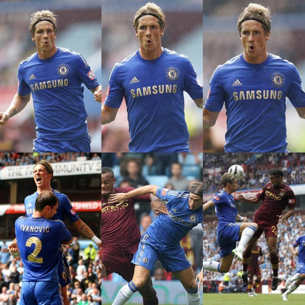 12.08.12 ; Chelsea 2 - 3 Manchester City