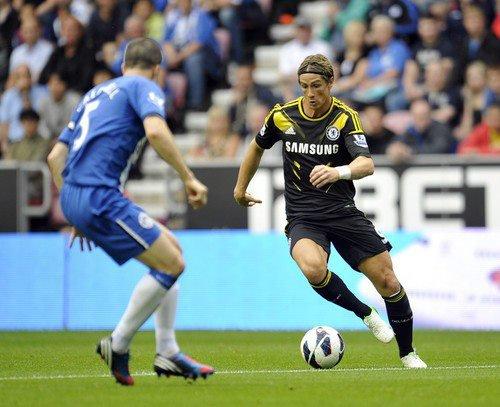 19.08.12 ; Wigan 0 - 2 Chelsea