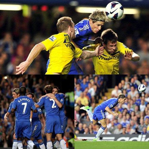 22.08.12 ; Chelsea 4 - 2 Reading