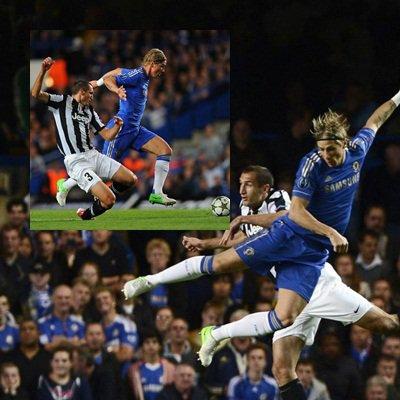 19.09.12 ; Chelsea 2-2 Juventus