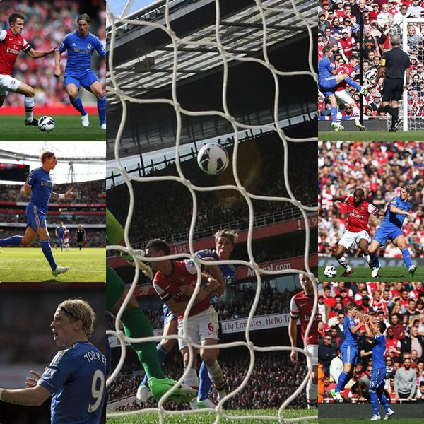 29.09.12 ; Arsenal 1 - 2 Chelsea