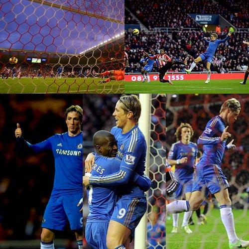 08.12.12 ; Sunderland 1 - 3 Chelsea