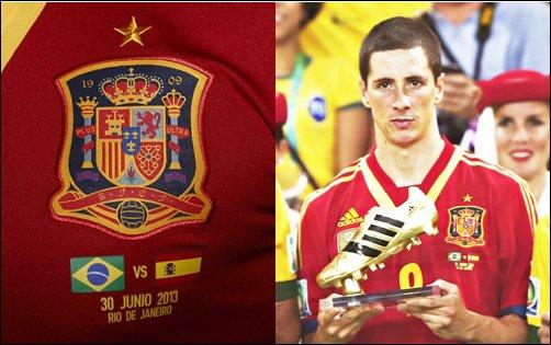30.06.13 ; Bresil 3 - 0 Espagne