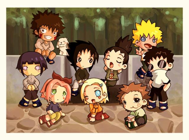 Histoires de Naruto