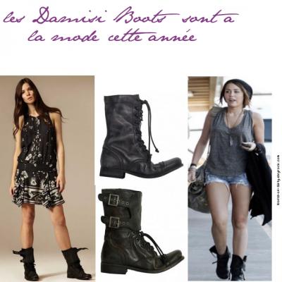 Mode : Pour cette rentré, les Damisi Boots sont a la mode, World-Of-Girly te les font découvrir en exclusivité !