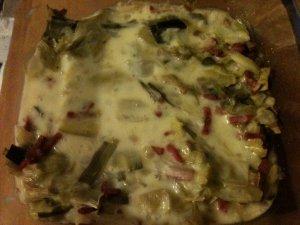 Tartiflette de poireau façon tartiflette légère