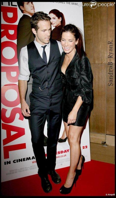 - Sandra Bullock & Ryan Reynolds -