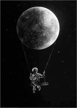 les douces larmes s agonisent sur mes joues ...seule la lune est la , elle me sourit mais je ne peux lui répondre je peux seulement la regarder qui scintille de toute sa lumière blanche.....aime tu petite lune le monde dans lequel tu brille ?