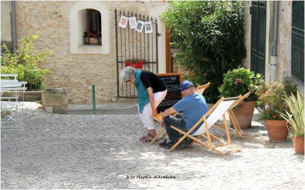 A St Martin d'Ardèche...
