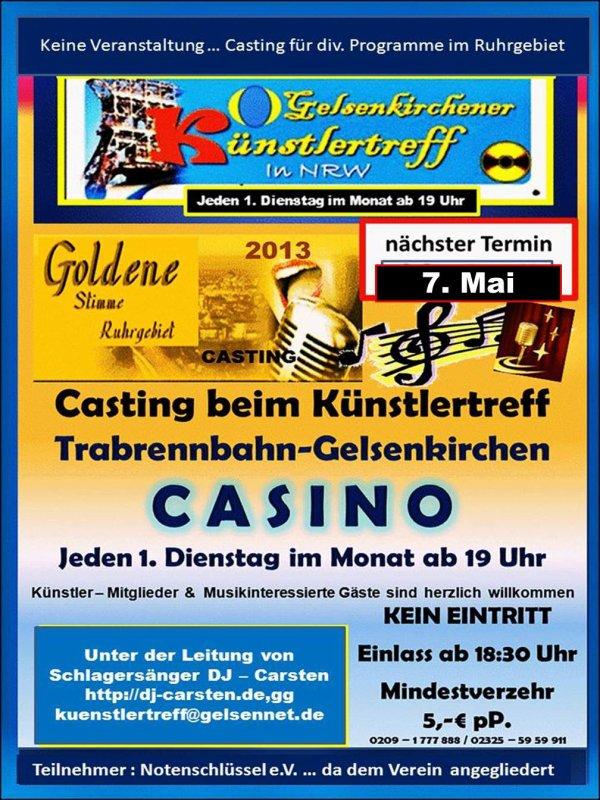 nächster Termin : Künstlerttreff-Gelsenkirchen