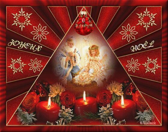 Votre amie Adélaïde vous souhaite un joyeux Noël à vous tous et toutes! !