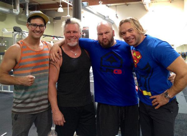 James Maslow au club de sport