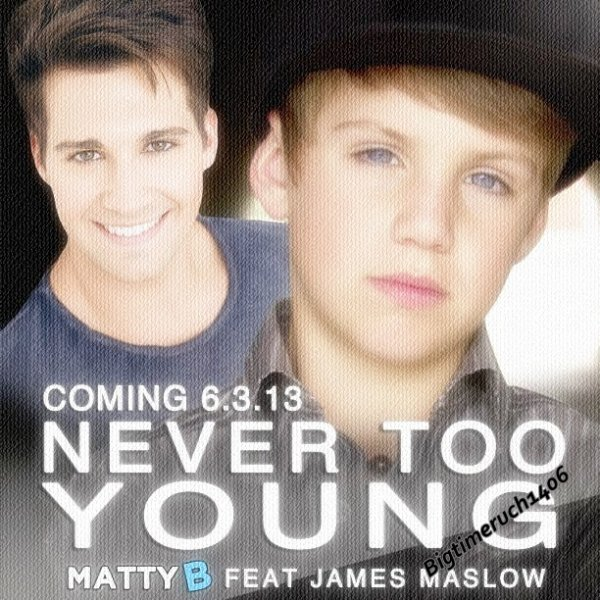MattyB feat James Maslow - Never Too Young Teaser