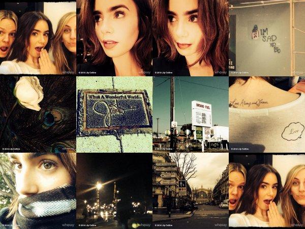 Le 1 Mars 2014    Lily était présente au Pré-Oscar Dinner dans Los Angeles dans un sublime tenue, Pour un jupe signée Chanel .