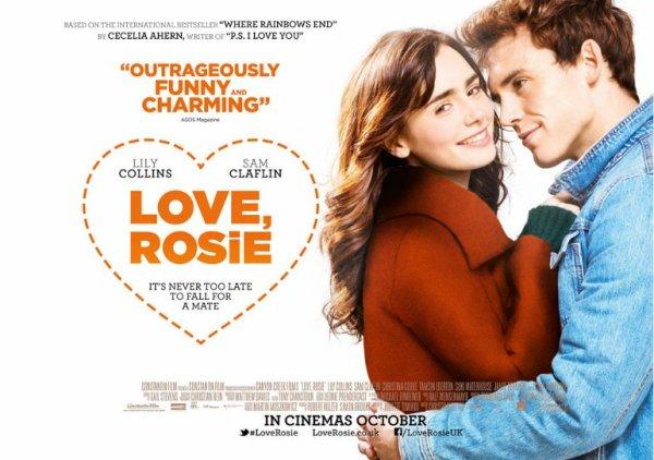 Pour son retour Lily est de sortie à la gym le 14 août, après de longues vacances avec toute sa famille à Ibiza et en Italie.  Un nouveaux poster pour Love, Rosie. et une Bande annonce.