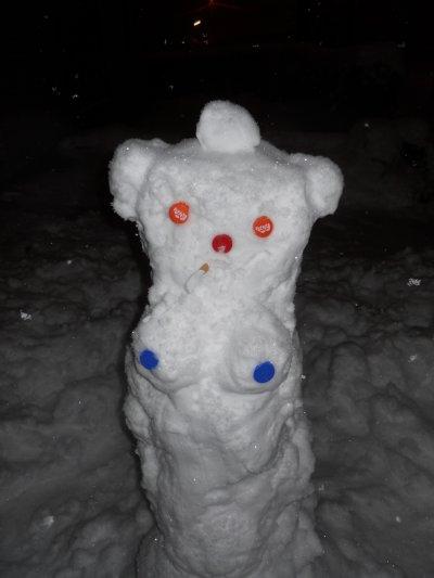 mon bonhonne de neige femme mdr