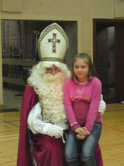 ma petite cousine avec saint nicola