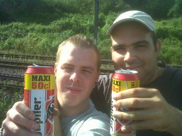 mon amis David et moi