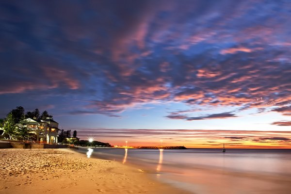 Cottesloe Beach at sunset