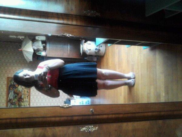 voila moi en robe