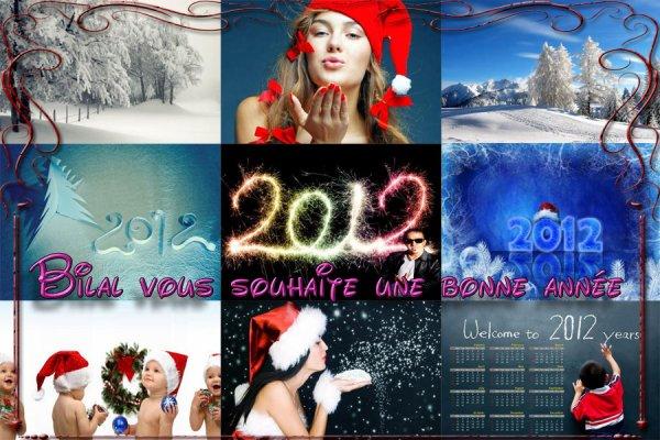 je vous souhaite une Bonne Année 2012