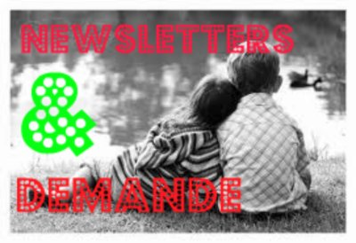 newsletters & demande