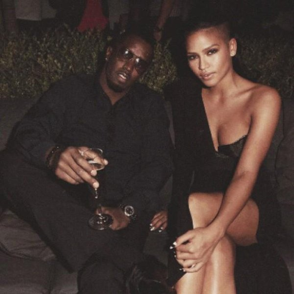 Cassie and P.Diddy