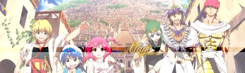 Fiche manga - Magi