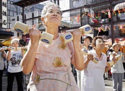 Les voleurs japonais vieillissent aussi