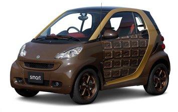 Smart invente la voiture chocolat pour le marché japonais