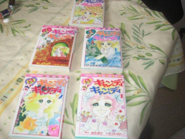 livre manga candy