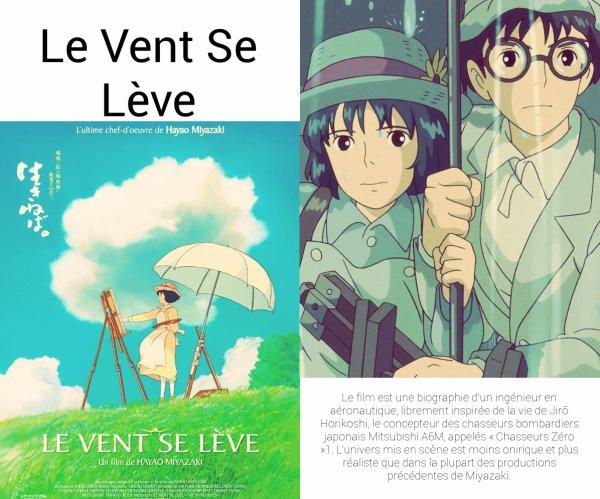 Film d'Animation Japonnais : Le Vent Se Lève