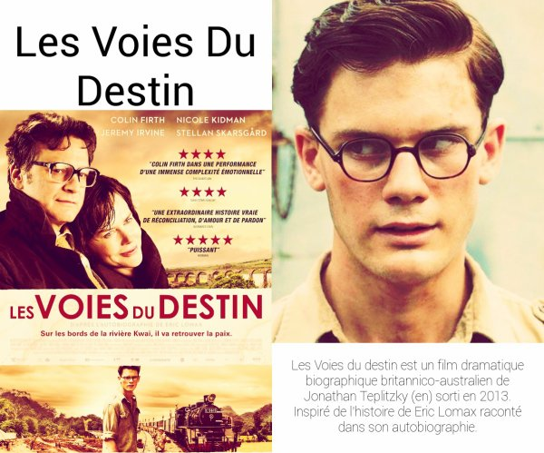 Film : Les Voies Du Destin ( The Railway Man ).