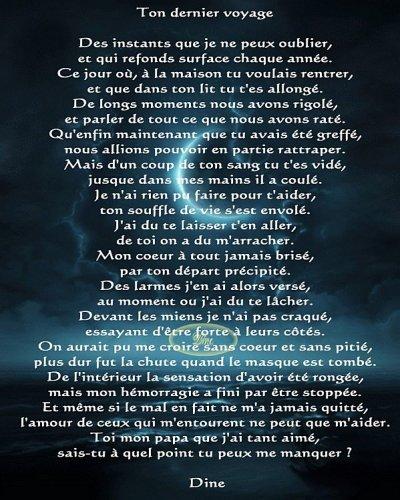 Poeme Pour Mon Pere Qui Me Manque Beaucoup Mes Enfants